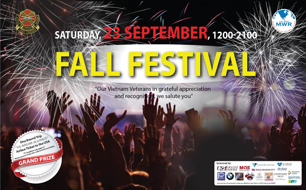 2017 USAG Yongsan Family and MWR Fall Festival