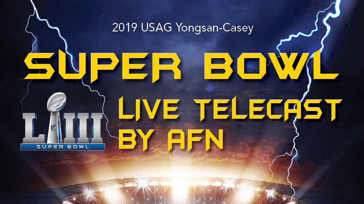Super Bowl Live Telecast by AFN