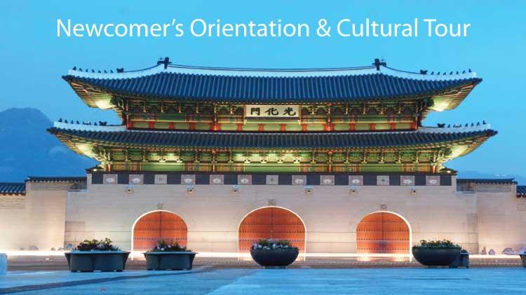 Newcomer's Orientation & Cultural Tour