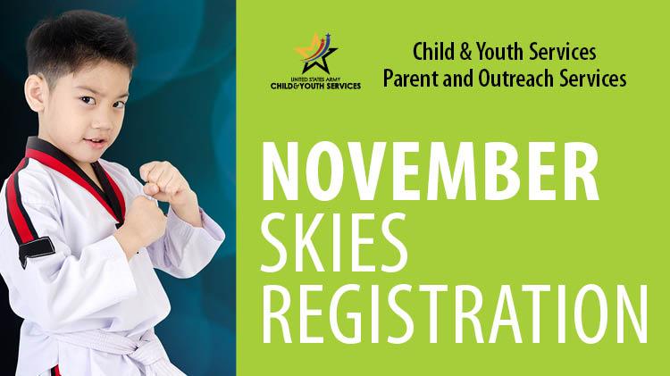 November SKIES Registration