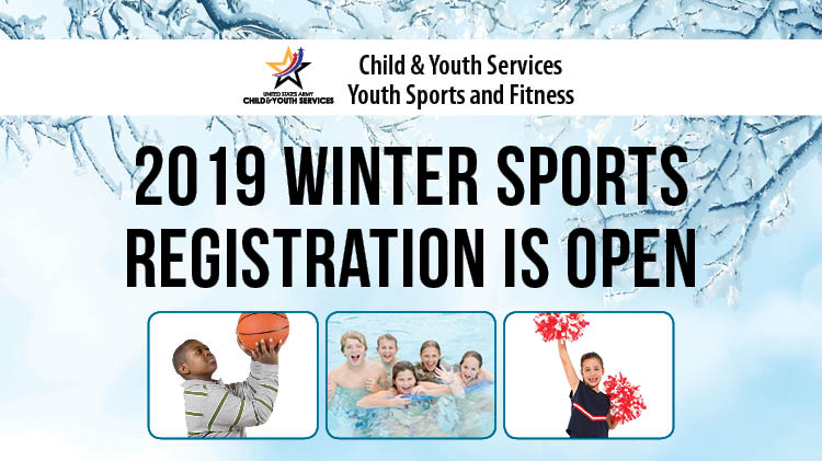 2019 WINTER SPORTS REGISTRATION IS OPEN