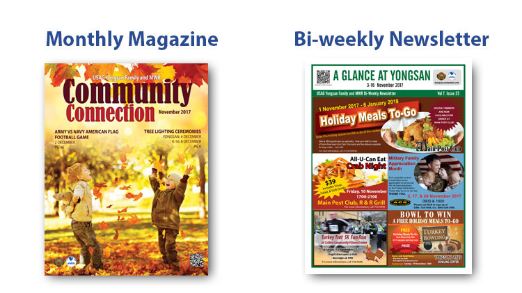 USAG Yongsan Family and MWR Magazine and Newsletter
