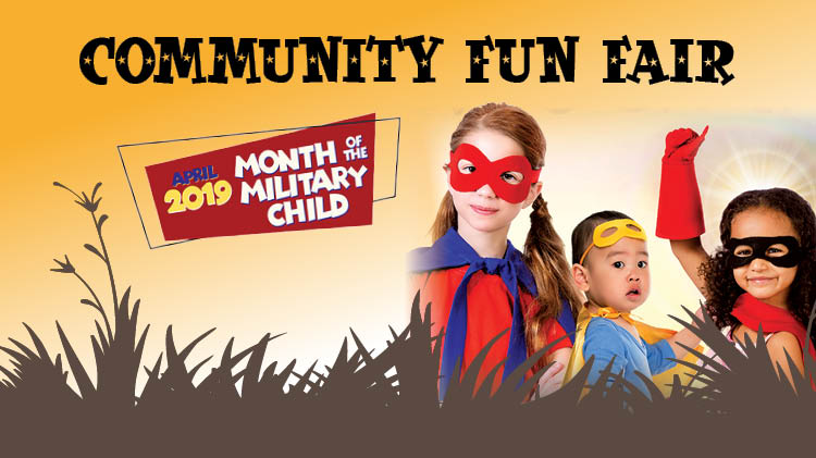 Month of the Military Child Community Fun Fair