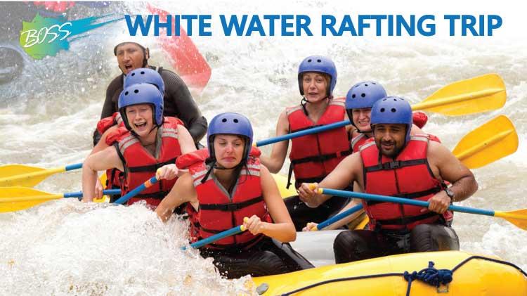 BOSS White Water Rafting Trip