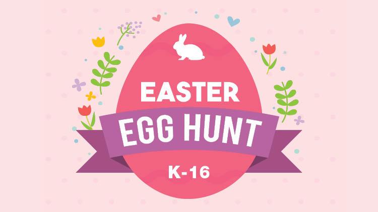 K-16 Easter Egg Hunt