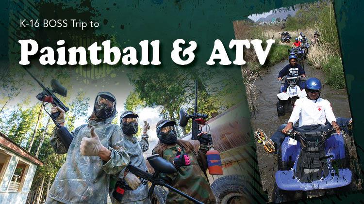 K-16 BOSS Paintball & ATV Trip